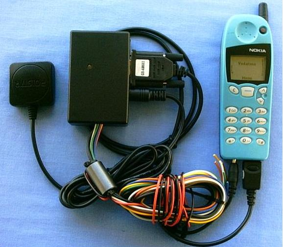 GPS GSM Vehicle Security System